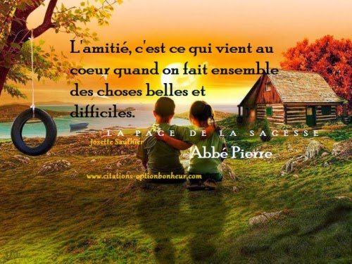 CITATION D AMITIE POUR BLOG