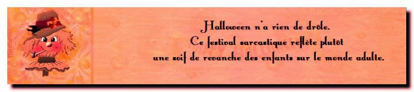 Belle citation d'amitié pour halloween
