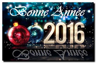 Message d'amitié Bonne Année 2016
