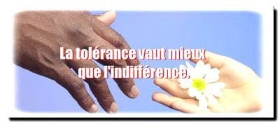 Citation d'amitié Tolérance